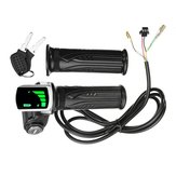 24V / 36V / 48V LCD Twist Throttle Batterie Anzeige für Scooter Electric Bike