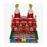 WLtoys YZ067 2384pcs Moscow Red Square Puzzle Assembled Building Blocks Indoor Toys