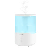 BlitzWolf®BW-SH1 2.5L Ultrasonic Humidifier Essential Oil Diffuser 110-240V 360° Ultrasonic Humidification Touch Control Adjustable Mist Modes