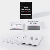 Our Moments Couples Card Conversation Starters for Great Relationships Solitaire Maak een leuk bordspel