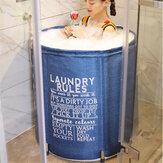 70cm Klappbadewanne Tragbare Badewanne Eimer Barrel Erwachsene Badewanne Baby Swimmingpool Badezimmer SPA Home