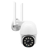 GUUDGO 10 LED light HD 1080P WIFI IP Camera Two Way Audio Wireless Camera H.264 PTZ Auto Tracking Night Vision Camera