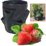 Dreidimensionale acht Taschen Familie Balkon Gemüse Pflanzbehälter Blumentopf für den Anbau von Blumen