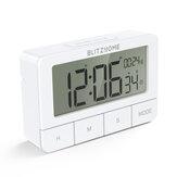 BlitzHome BH-TR01 Cronógrafo eléctrico Reloj Temporizador de cocina Multimodo Grande HD LCD Pantalla de alarma Reloj