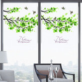 60x58cm Frosted Ondoorzichtige Glas Window Film boom en vogel Privacy Glass Stickers Decor van het Huis