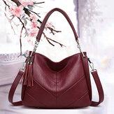 Женская большая вместительная сумка с кисточками Сумка Crossbody Сумка Сумочка