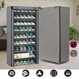 Non-woven Fabric Shoe Rack 9 Layers Holder Dustproof  Removable Shoe Storage For Home Furniture Shoe Rack