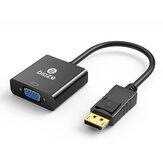 Biaze ZH33-PC Tam HD 1080P DP DisplayPort VGA Dönüştürücü Video Adaptör Kablosu