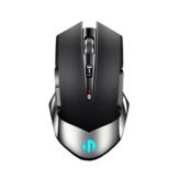 Inphic M606 2.4Gワイヤレス充電式マウス1600DPI人間工学に基づいた省電力7色の呼吸用バックライトオフィスゲーミングマウス