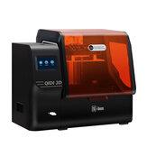 QIDI® S-box UV LCD Resin 3D Printer 215*130*200mm Build Volume with UpgradedMatrixUVModule/Large Resin Vat Capacity/High Accuracy Printing