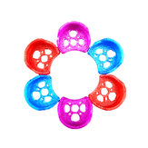 4 PCS ZJWRC TPU 1306 1407 1506 1408 1606 Brushless Motor Protective Seat Case for RC Drone FPV Racing