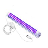 USB UV-C LED Lâmpada preta Halloween Blacklight Detector de manchas de cura ultravioleta