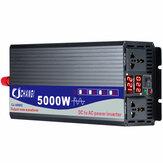 50 Гц Солнечная Чистый синусоидальный инвертор мощности двойной цифровой Дисплей 3000 Вт / 4000 Вт / 5000 Вт DC 12 В / 24 В в 220 В переменного тока преобр