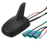 Auto gemodificeerde antenne DAB / DAB + GPS AM FM universeel voor Volkswagen / Audi