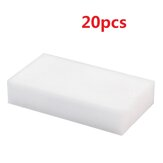 20PCS/set Melamine Cleaning Sponge Foam Magic Eraser Duster Wipes Car Dish Cleaner Pads Bathroom Tool Kitchen Cleaning Tool