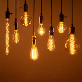 Vintage Edison Bulbs E27 40W/60W AC 220V Incandescent Lamp Retro Filament Light Bulb