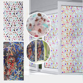 3D PVC Waterproof Glass Sticker UV Blocking Window Film Decor Privacy Static Cling for Bath Decor