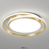38W 45 * 5CM AC175-265V LED Deckenleuchte Goldring Modern Home Living Room Decor