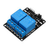 3шт 2-канальный релейный модуль 12В с расширенной платой реле защиты оптической муфты Geekcreit для Arduino - продукты, которые работают с официальны