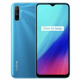 Realme C3 Global Version 6,5 pollici 5000 mAh Android 10 12 MP AI Triplo fotografica Slot per 3 schede 3 GB 64GB Helio G70 4G Smartphone