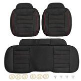 3 stücke PU Leder Auto Vorne Hinten Sitzbezüge Universal Seat Protector Sitzkissen Pad Mat