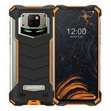 [EU-versie] DOOGEE S88 Pro Global Version 6,3 inch FHD + IP68 / IP69K waterdichte NFC 10000 mAh omgekeerd draadloos opladen Android 10 6 GB 128 GB Helio P70 4G-smartphone