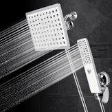 360 Derece Dönüş Duş Başlığı Seti Paslanmaz Çelik Tasarruf Su Yüksek Basınçlı Banyo