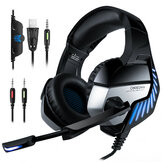 ONIKUMA K5 Pro Gaming Headphone Hi-Fi Subwoofer Headset 7.1 Virtual Stereo Earphone With Mic for PS4 PC Xbox One