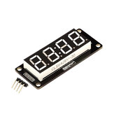 0.56 inch 4-Digit LED Display Tube 7-segments TM1637 50x19mm White Clock Colon Module