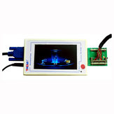 TV160 Completa HD LVDS VGA VGA (LED/LCD) TV Mainboard Tester Conversor Ferramentas Com Cinco Placa Adaptador