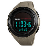 SKMEI 1405 Solar Power Stopwatch LED Display Digital Watch