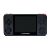 ANBERNIC RG350P 16GB 2500 Game Video Game Console 3.5 inch IPS HD OLeophobic Layar Dikeraskan 64 Bit DDR2 512M Retro Handheld Video Game Player untuk PS1 GBA SFC MD