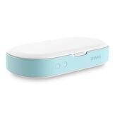 LyRay S15 5V डबल UV फोन नसबंदी मशीन बॉक्स आभूषण फ़ोनों स्टरलाइज़र चश्मा क्लीनर उपकरण