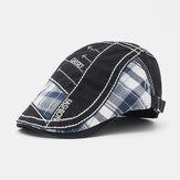 Boinas de algodão Camo Newsboy Gorras Visores Sun Chapéu Flat Chapéus