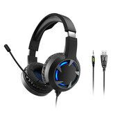 Bakeey Wired Headphones Stereo Bass Surround Gaming Headset for PS4 New for Xbox One PC with Mic