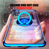 Bakeey Magnetic Car Holder Ring Holder Thin Color Plating Soft TPU Protective Case For Xiaomi Mi9/ Mi 9 Transparent Edition
