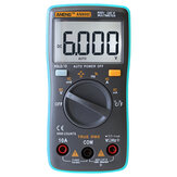 ANENG AN8002 True RMS Digital 6000 Counts Multimeter AC / Arus DC Voltage Frekuensi Perlawanan Suhu Tester ℃ / ℉