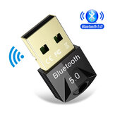 Bakeey USB Bluetooth 5.0 Dongle Adapter Souris sans fil Bluetooth Music Audio Récepteur Émetteur pour PC Ordinateur Haut-parleur