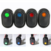12V 30A LED Light Rocker Toggle Switch SPST ON OFF for Car Truck Van Boat