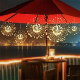 ARILUX® Solar Power 200LED 8 Modów IP65 DIY Firework Starburst Fairy String Christmas Holiday Light