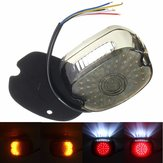 Rood LED Tail Brake Turn Light Voor 91-10 Harley Sportster Softail Dyna Lay Down