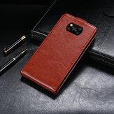 Bakeey Luxury Business Магнитный вертикальный флип противоударный защитный чехол из искусственной кожи Чехол для POCO X3 NFC Неоригинальный