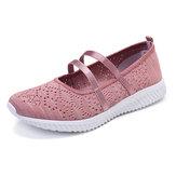Kadınlar Casual Mesh Hafif Spor Ayakkabıları Oymak