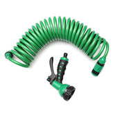 25FT Flexible Portable Expandable Garden Water Hose With Nozzle