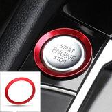 वीडब्ल्यू गोल्फ 7 एमके 7 जीटीआई आर जेटटा सीसी आर्टेन के लिए कार स्टार्ट इंजन स्टॉप बटन कवर ट्रिम रे