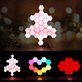 LifeSmart Creative Geometry Assembly Smart Control Home Painel Lâmpada Night Light