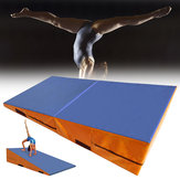 Folding Gymnastics Mat Yoga Exercise Gym Airtrack Panel Tumbling Climbing Pilates Pad Air Track