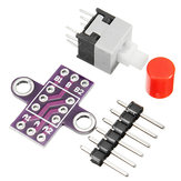 20 adet CJMCU-010 Kilit Düğme Kendinden kilitleme Anahtarı Çift Sıralı Anahtar Modülü