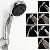 6 Funktionen ABS Handwasserspar Beaufschlagen Duschkopf