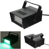 24 LED 3W AC220V verde stroboscopica partito della luce della fase discoteca dj effetto di illuminazione UE / USA spina